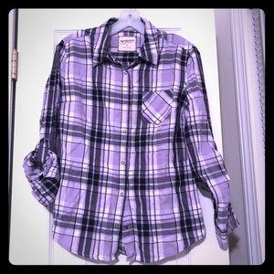 Girls Plaid shirt